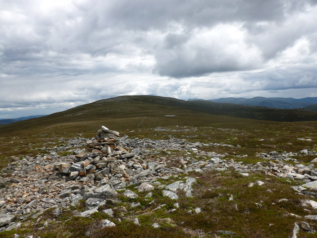 Cairn on Carn na Criche