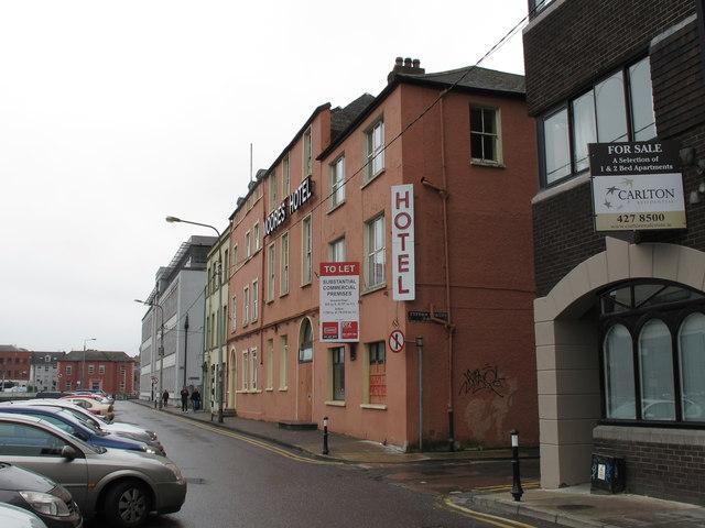 Former Moore's Hotel, Morrison's Quay, Cork