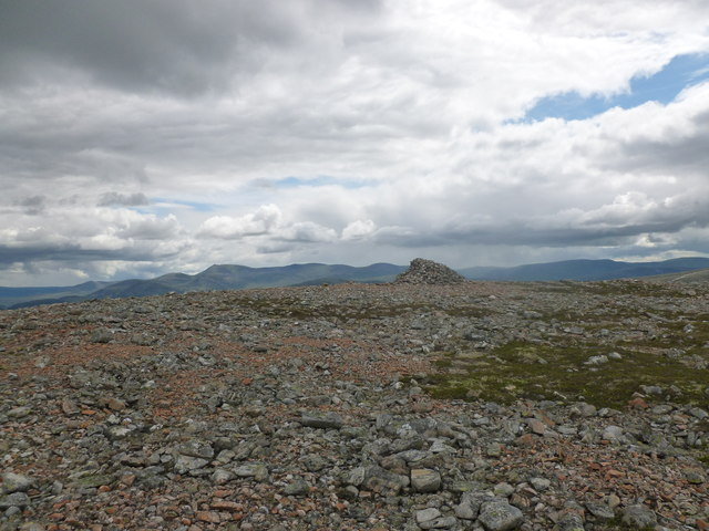 Summit of Carn na Drochaide