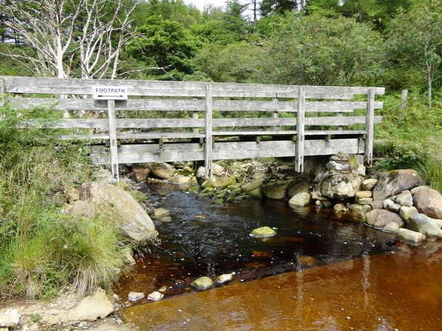 River leading to Glen Iorsa