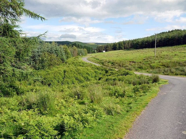 Road to Keslocleugh at Outer Scouter Cleugh