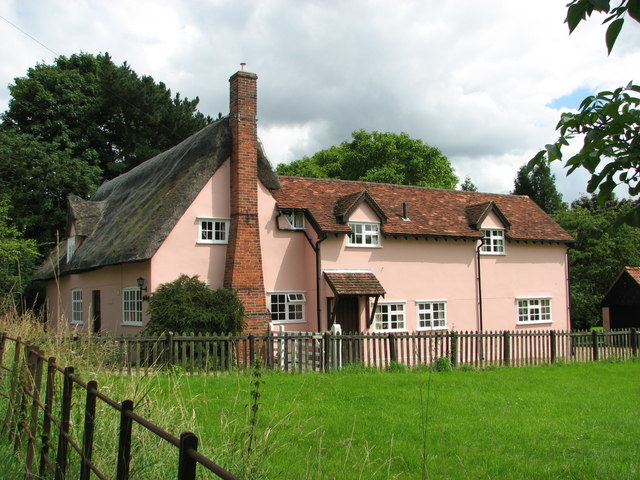 Cottages in Chelsworth