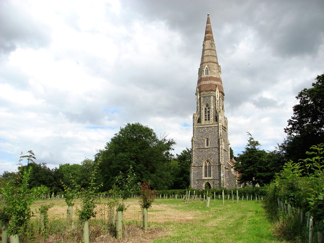 St Andrew's church, Great Finborough