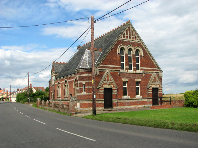 Methodist church in Broad Road, Cotton
