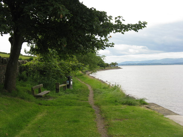 Coastal path at Blackness