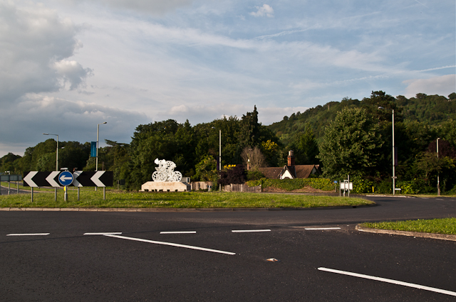 Pixham End Roundabout