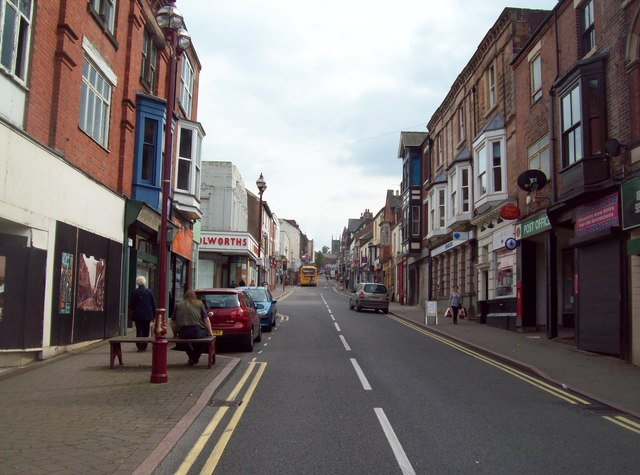 Bath Street in Ilkeston