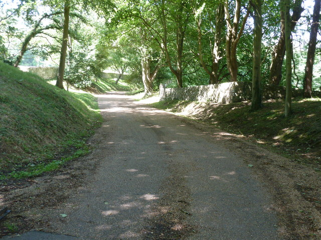 Driveway to Friston Place