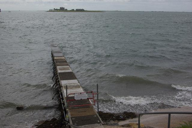 Roa Island jetty