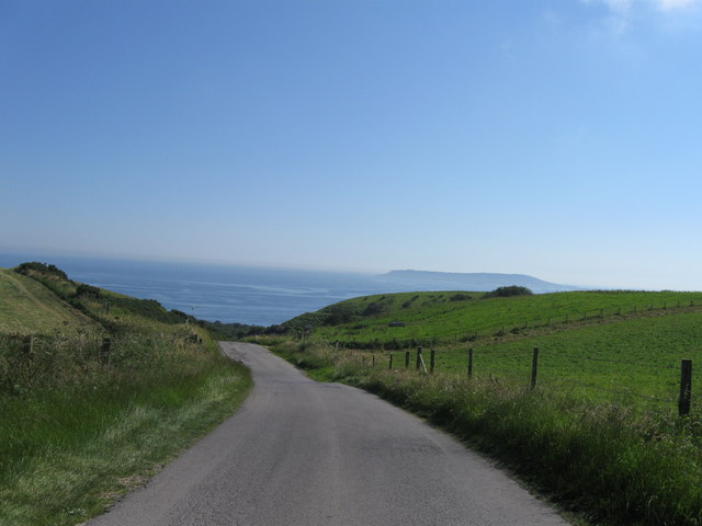 Road down to Ringstead