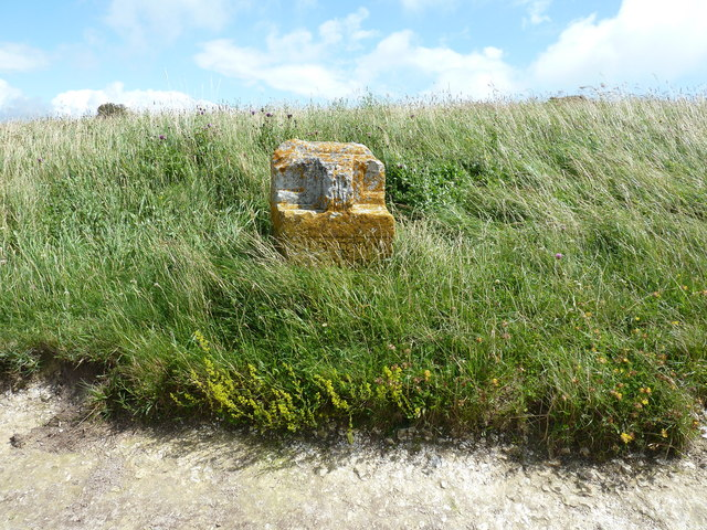 Boundary stone for Old Town Eastbourne