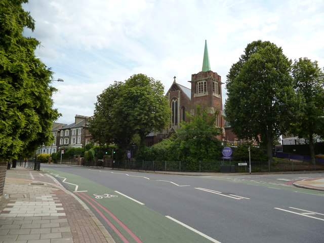Tulse Hill:  former church