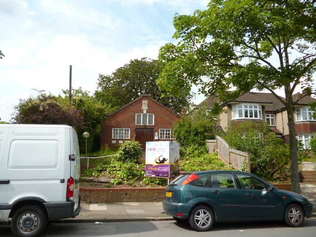 Tulse Hill:  Church on Lovelace Road