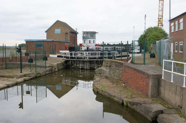 Keadby Locks, Keadby