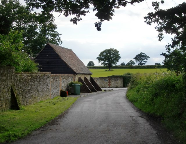 Narrow lane at Swaynesland