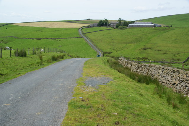 Road crossing Tongue Gill