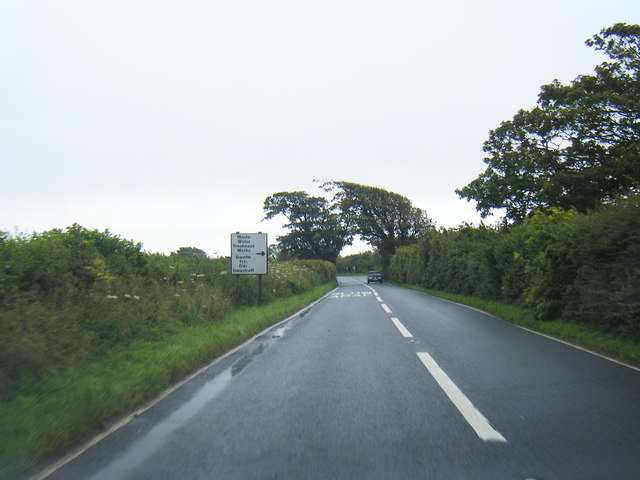 Wick Road near Woodlands Farm