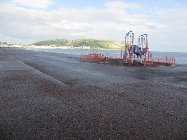 North Wales Path near play apparatus