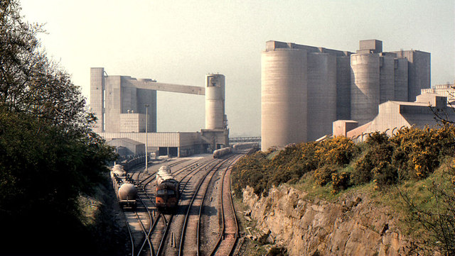 Platin cement factory near Drogheda