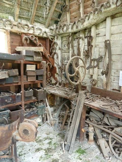 Farrier's workshop - Pitstone Farm Museum