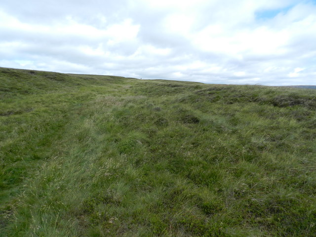 Featureless stretch of moorland