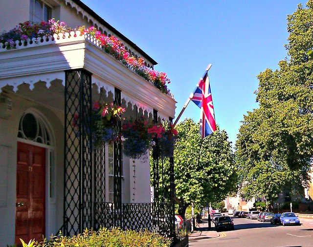 Union Flag, 71 Rodney Road, Cheltenham