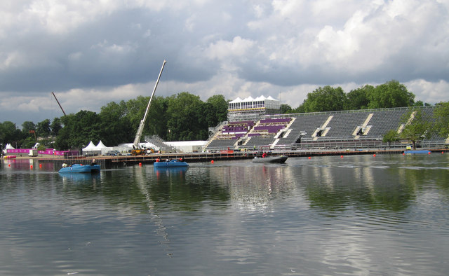 Olympic preparations at the Serpentine