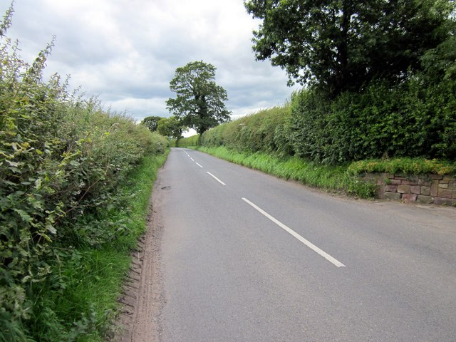 Ryecroft Lane near Tarvin