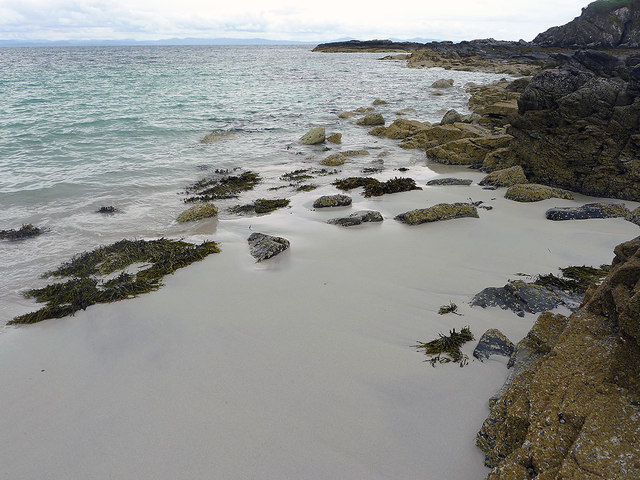 The beach of Camas Daraich