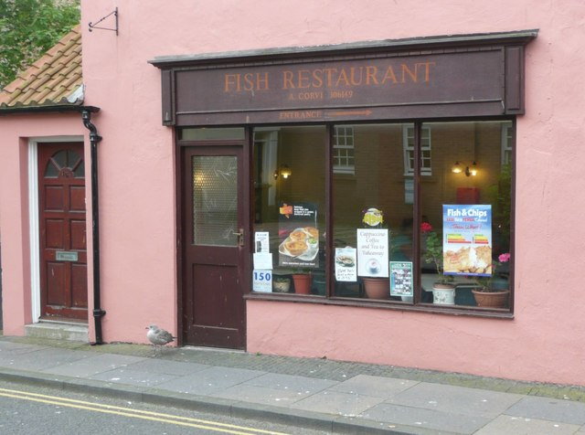 Fish Restaurant in Berwick