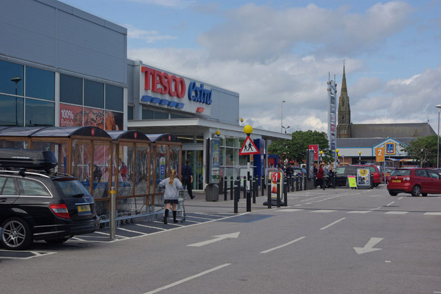 Tesco Extra, Barrow in Furness