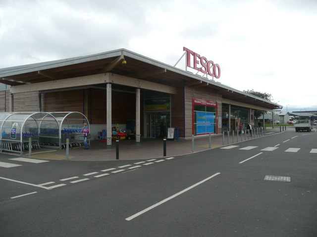 Tesco store in Tweedmouth