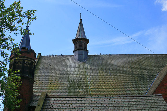 Roof of Firth Park Methodist