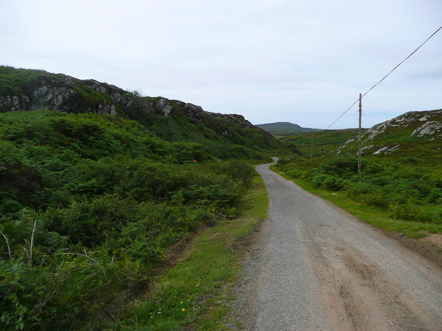 The road to The Strand