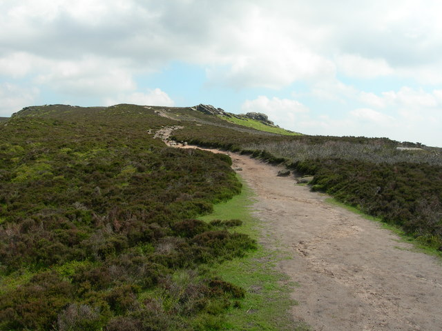 Path Leading up to Derwent Edge from Whinstone Lee Tor