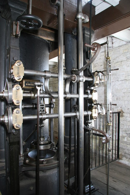 Crofton Pumping Station - Cornish beam engine