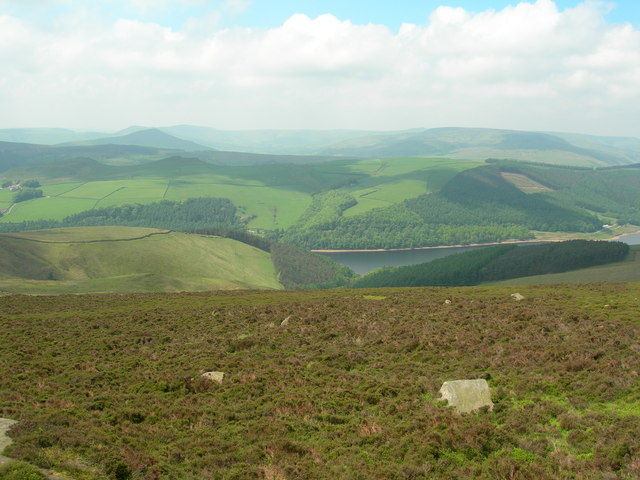 View west from Derwent Moor