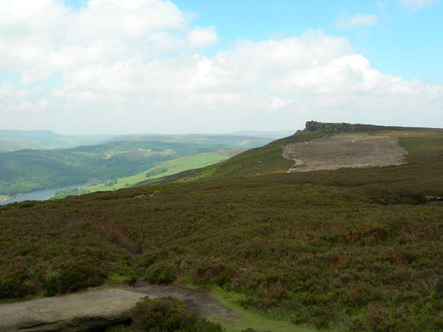 View northwest from the Wheel Stones towards White Tor