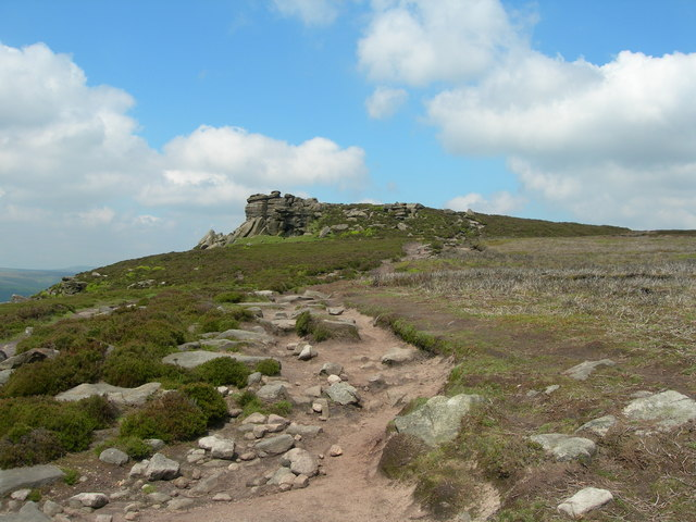 Looking northwest to White Tor