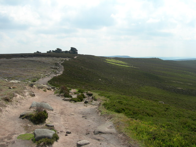 Looking southeast to White Tor