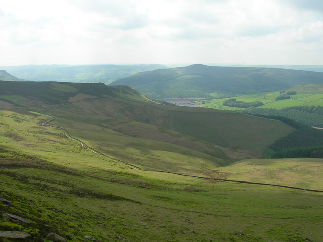 View south over Grainfoot Clough