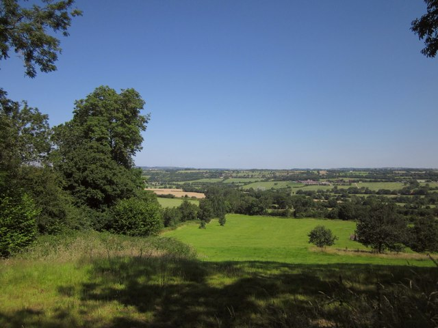 Field below Kings Hill