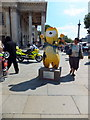 TQ3080 : Trafalgar Wenlock in St Martins Place by PAUL FARMER