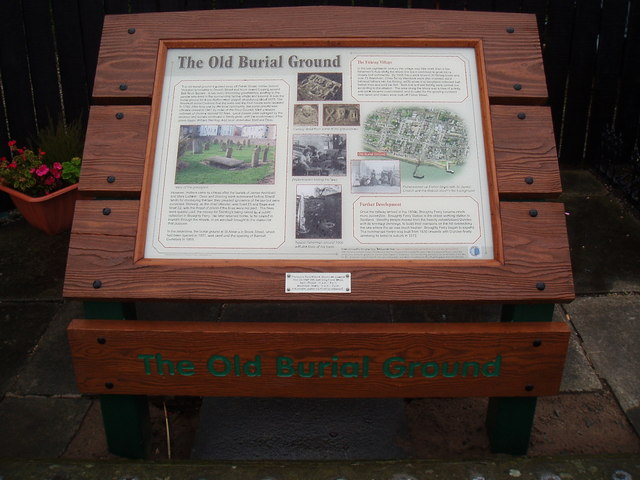 Information plaque near Old Burial Ground