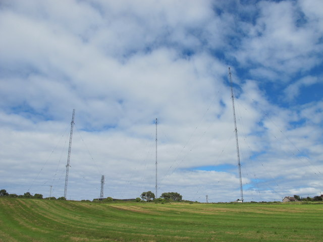 Radio Masts at Clarkly Hill, Burghead