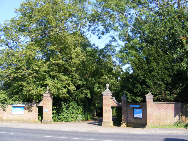 The entrance to Highfield Residential Home