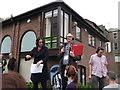 TQ7567 : John Warnett and Clare McDonnell, Radio Kent, Chatham by David Anstiss