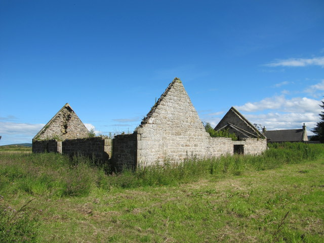 Old Farm Building at Coltfield