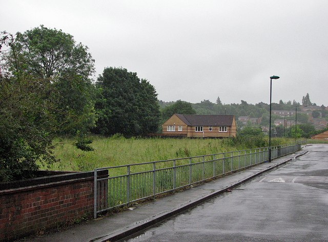 The site of St Ann's Well Station