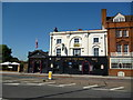 TQ3070 : The 'Pied Bull':  Streatham High Road by Dr Neil Clifton